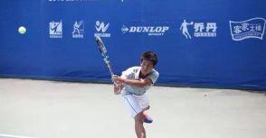 駱建勛獲生涯職業首分 勇闖網壇向前邁進