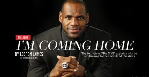 "3周年紀念日------Lebron James""coming home""的背後"