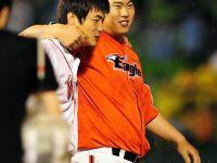 電影場景重現 金廣鉉、柳賢振MLB完美對壘