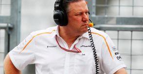 【F1】McLaren車隊重建需幾年?Brown:五年左右