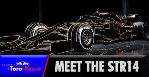 【F1】重拾原本任務:Toro Rosso車隊發表年度賽車「STR14」