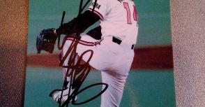 小宮山悟 充滿鬥志的弱隊王牌 1994BBM親筆簽名球員卡