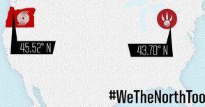 Blazers : #WeTheNorthToo
