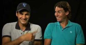 他們走著,像夜色一樣優美 -談Federer與Nadal:愛與和平