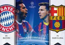 2014-15年歐冠四強賽首回合簡析  巴薩 VS 拜仁