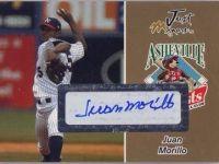 中華職棒史上最快速的投手 強克( Juan Morillo )簽名球員卡