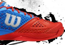 Wilson的網球鞋新技術 - Glide