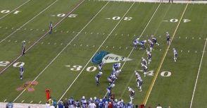NFL戰術 - 孤獨的中鋒(Swinging Gate)