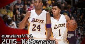 球神很忙,Russell:祂沒照顧到Kobe