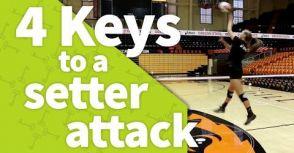 【球技】不是只有攻擊手!舉球員攻擊的4項技巧