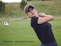 佩姬的高爾夫揮桿圓心報導(1)Paige Spiranac`s Swing Rotation Center Shifting (1)