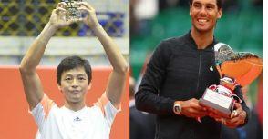 屬於盧彥勳與Rafael Nadal納達爾的勝利
