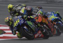 【MotoGP】馬來西亞站:Rossi:YAMAHA的賽車在潮濕的賽道騎起來「非常危險」