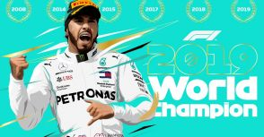 【F1】Rd.19美國GP賽後訪問:雖未能奪勝  Hamilton仍取得第六座世界冠軍