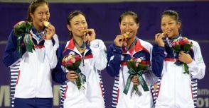 2014仁川亞運女子網球團體賽冠軍:中華隊!