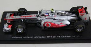 Jenson Button MP4-26 中國站