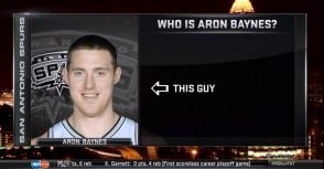 Aron Baynes續留馬刺