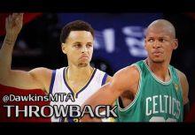 兩大射手比較:Stephen Curry vs Ray Allen