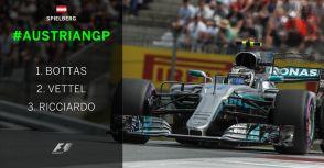 【F1】Rd.09奧地利站:輪胎管控成考驗,Bottas驚險拿下勝利