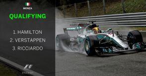 【F1】Rd.13義大利GP排位賽:比賽因雨一波三折,Hamilton正式成為生涯竿位王