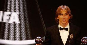 FIFA 最佳男子球員(2018年):Luka Modrić