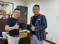 劉中興秘書長南下拜會運動發展局程局長 望高雄海碩再造顛峰