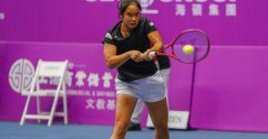WTA未來之星冠軍楊亞依挑戰職業 勇奪海碩盃會內首勝寫新紀錄