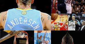 Chris Andersen 金塊與黃蜂時期球衣整理 (2001/02 ~ 2011/12)