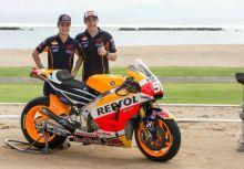 Marquez,Pedrosa發表2015年HONDA新MotoGP賽車