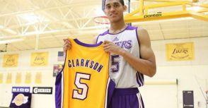 2014年湖人第二輪第46順位 Jordan Clarkson