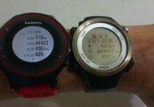 [心得] Epson Runsense SF810 vs Garmin Forerunner 225 ( Garmin FR225 )搶先交叉實測