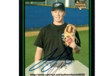 FOX體育家族《夏日棒球生日派對》MLB棒球教室 Jesse Litsch 簽名新人卡