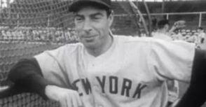 Joe DiMaggio曾兩度來台訪問