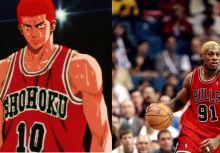 你我共同的回憶.灌籃高手與NBA球員比一比