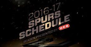 NBA 2016-17賽程出爐:馬刺賽季看點搶先看