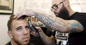 大聯盟唯一球員理髮廳生意夯  手藝好還聽球員講八卦