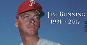 完全比賽巨投/名人堂級參議員Jim Bunning因病辭世