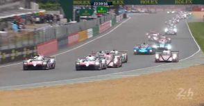 【WEC/LM24】決賽(前12小時):Toyota車隊成功構築巨大優勢,Rebellion車隊苦苦追趕