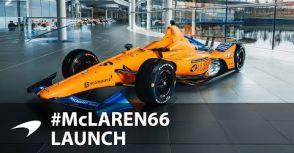【Indy 500】挑戰完成「賽車界三大賽」大滿貫  McLaren車隊公佈Alonso印地戰車塗裝