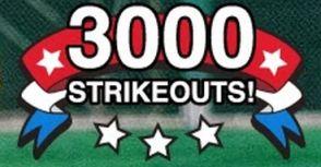MLB 3000 Strikeout Club