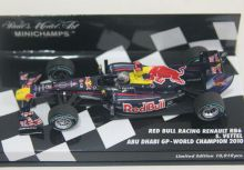 Sebastian Vettel RB6 Abu Dhabi GP最年輕的世界冠軍