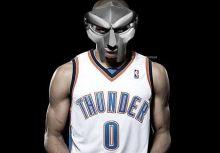 Russell Westbrook 超炫面罩出現?