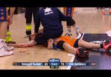 前NBA球員血濺歐洲賽場,本季最怵目驚心受傷!