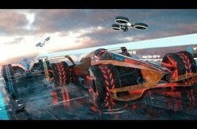 McLaren車隊想像的2050年F1世界