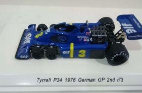 經典六輪車 Tyrrell P34